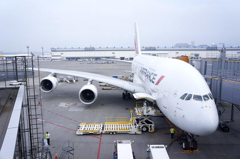 AF AIRFRANCE AIRBUS A380 NARITA NRT