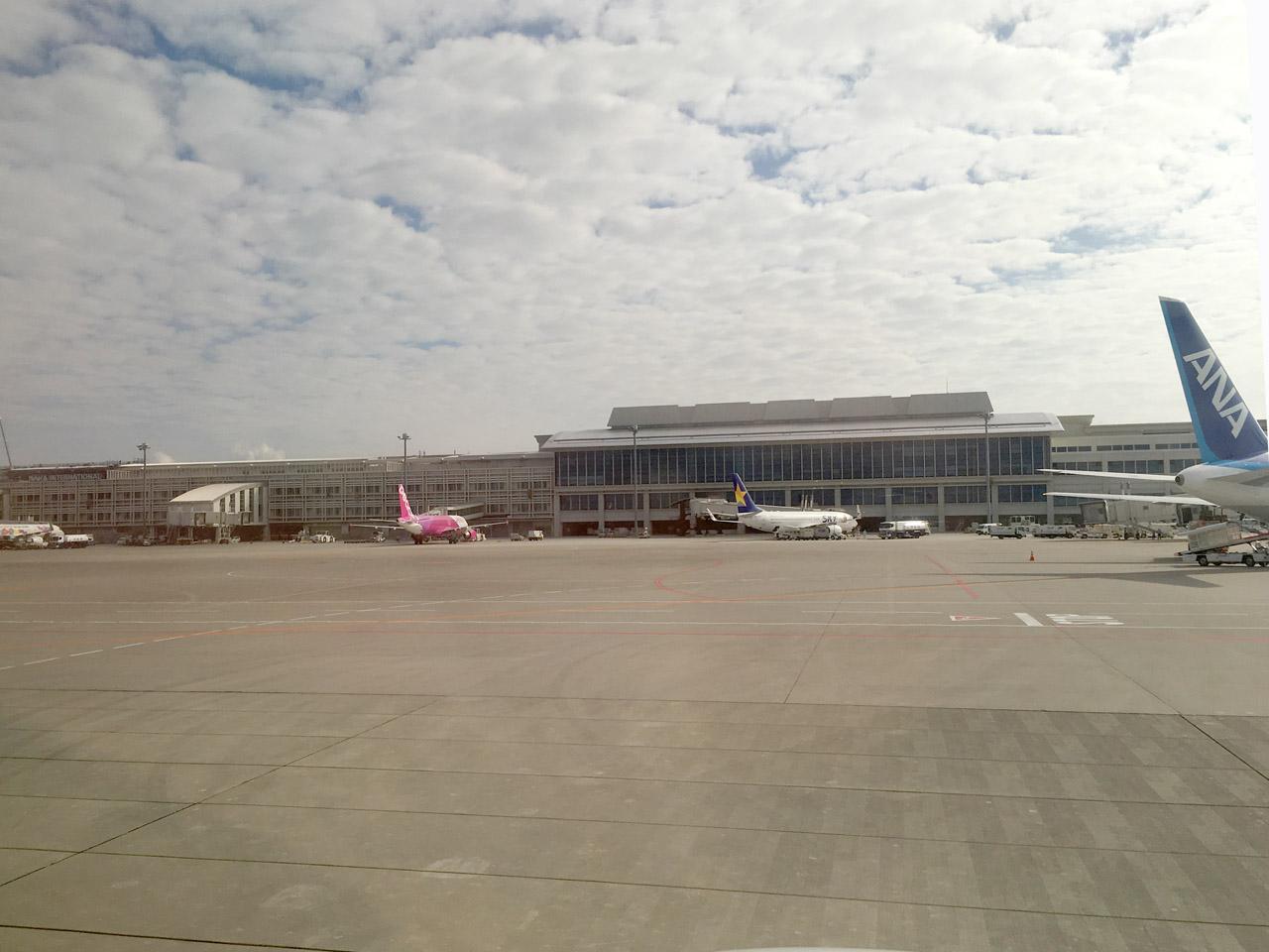 那覇空港,駐機場
