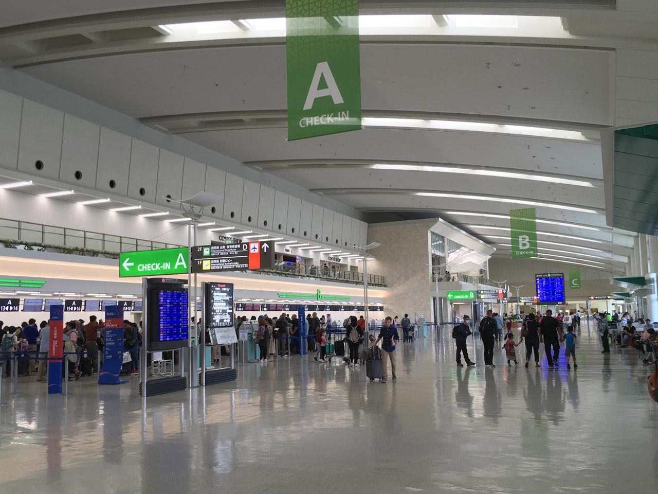 那覇空港,国際線