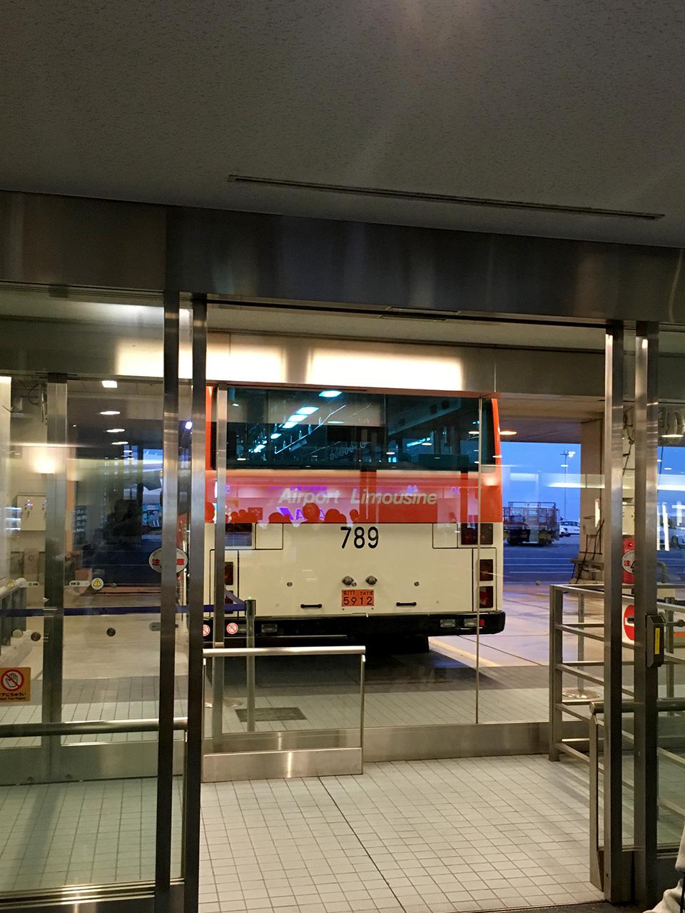 羽田空港,バス