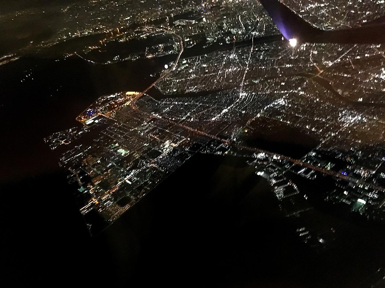 羽田空港,空撮,TDR,ディズニー,夜景