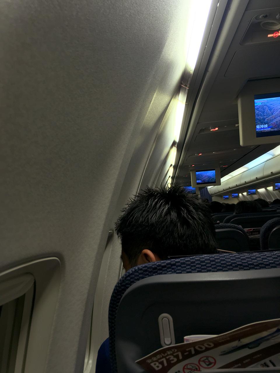 ボーイング,737,照明,窓