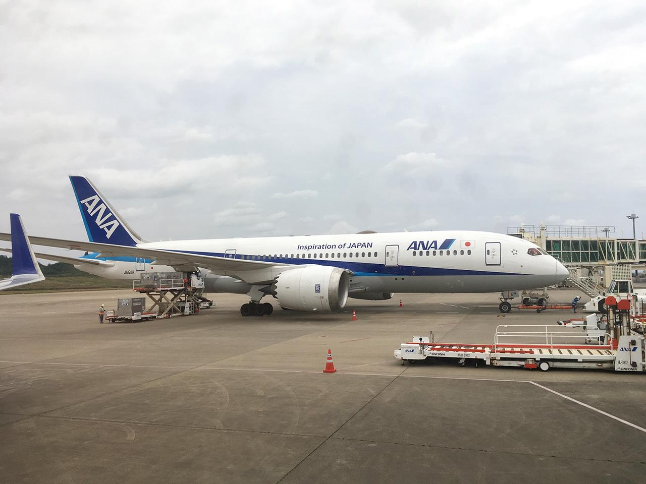 石垣空港,787